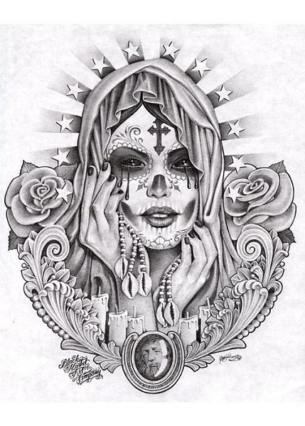 TattooLove On Pinterest Chicano Art Sugar Skull And