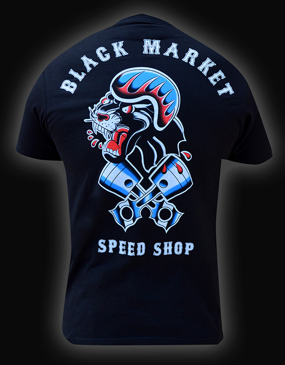 Mens Speed Shop Tee